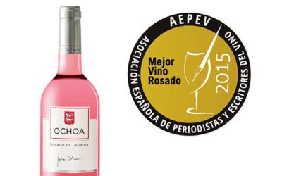 AEPEV recognizes OCHOA Rosado de Lágrima as the best rose of the Spain