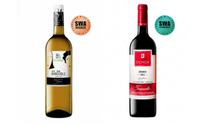 Dos medallas para Bodegas Ochoa en los Sommelier Wine Awards