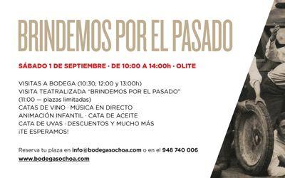 Puertas Abiertas en Bodegas Ochoa (sábado 1 septiembre)