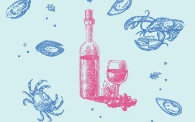 ¿SABÍAS QUE… el vino que mejor marida con el marisco es el Rosado?
