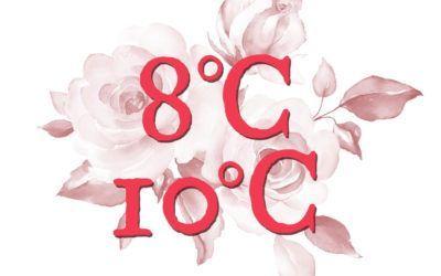 ¿Sabías que… la temperatura recomendada para servir nuestros vinos Lágrima Rosa y Calendas Rosado es de 8-10 grados?