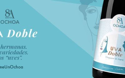 """Did you know our wine 8A Uvadoble has this name because both grape varieties it is made with (Viura y Viognier) begin with """"V""""?"""